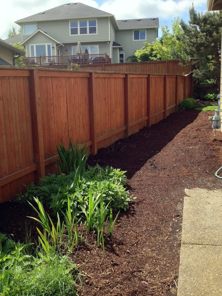 smith exterior fence stelzer painting