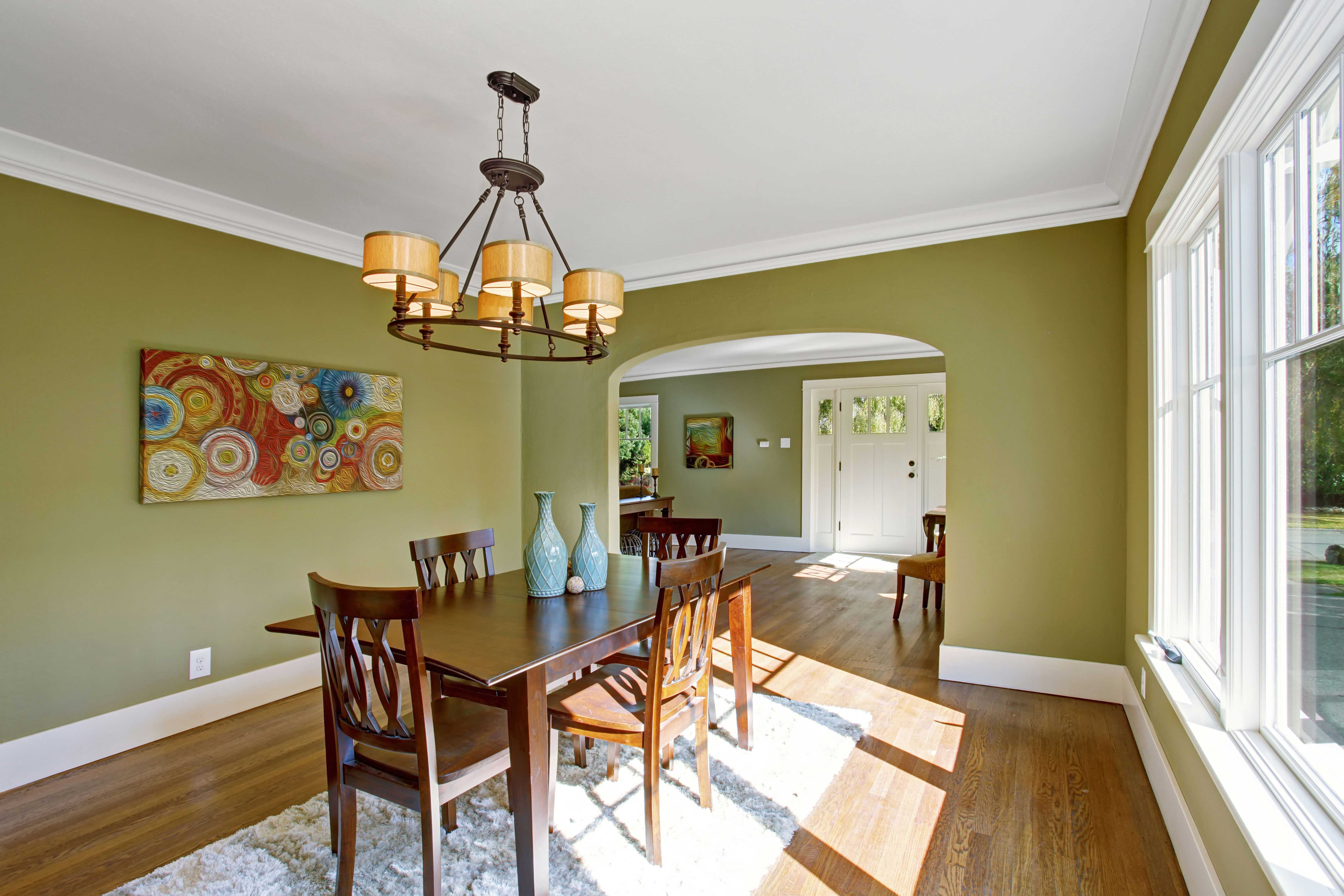 Interior painting stelzer painting portland or - Interior exterior painting services set ...